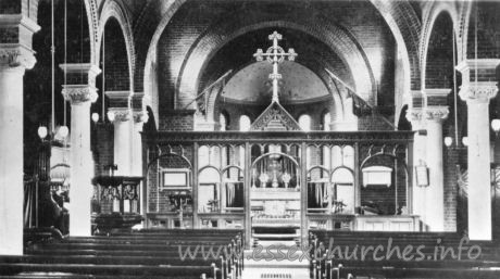 Essex Regiment Chapel, Little Warley Garrison Church - Kingsway Real Photo Series.
