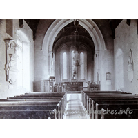 St Augustine of Canterbury, Birdbrook Church - From a photograph in the church.
