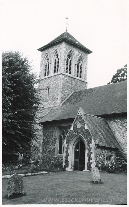 St Margaret, Wicken Bonhunt Church - Dated 1968. One of a series of photos purchased on ebay. Photographer unknown.