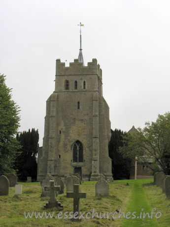 All Saints, Ashdon Church