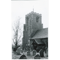 St Mary the Virgin, Latton Church - Dated 1968. One of a series of photos purchased on ebay. Photographer unknown.