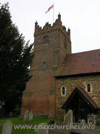 St Mary, Fryerning Church