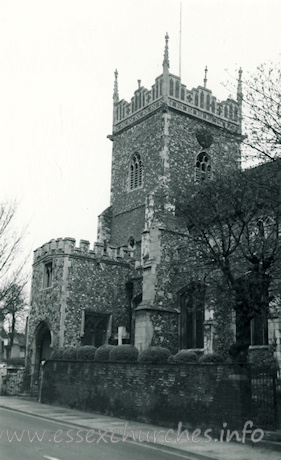 St Leonard, Hythe Church - Dated 1967. One of a set of photos obtained from Ebay. Photographer and copyright details unknown.