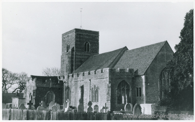 St Andrew, Fingringhoe Church - Dated 1966. One of a series of photos purchased on ebay. Photographer unknown.