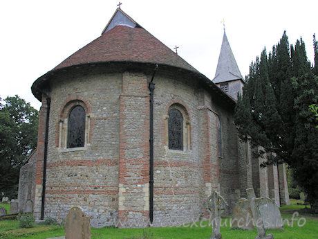 St Michael & All Angels, Copford Church - The apsidal chancel from the NE.