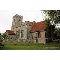 St Nicholas, Tolleshunt D`Arcy Church