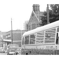 Trinity (Free Church of England), Southend-on-Sea  Church - This is a cropped version of an original supplied by Essex Bus Enthusiasts Group collection, courtesy Chris Stewart.