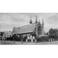 Park Road Methodist, Southend-on-Sea  Church - This postcard scan was kindly supplied by Tony Brown of http://www.miltonconservationsociety.com.