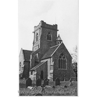 Holy Trinity, Pleshey Church - Dated 1966. One of a set of photos obtained from Ebay. Photographer and copyright details unknown.