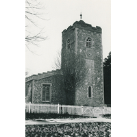 St Mary the Virgin, Sheering Church - Dated 1968. One of a set of photos obtained from Ebay. Photographer and copyright details unknown.