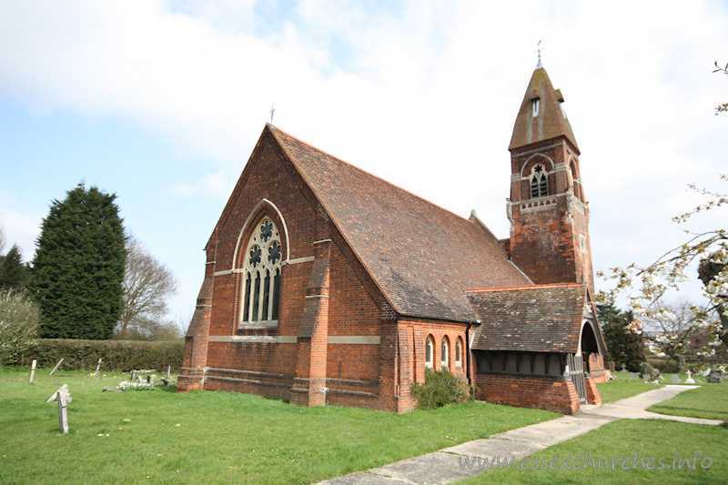St John the Evangelist, Ford End Church