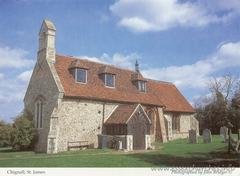 St James, Chignall St James Church - Published by The Friends of Saint Francis Hospice. Photographed by John Bridger. All photographers are members of the Hornchurch-in-Havering Photographic Society. http://www.hornchurchphoto.co.uk