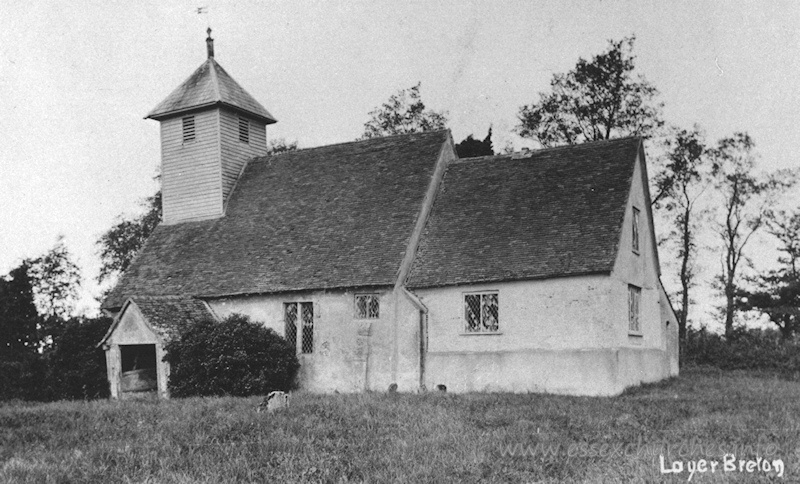 St Mary the Virgin, Layer Breton Old Church - Image kindly supplied by Andy Barham.