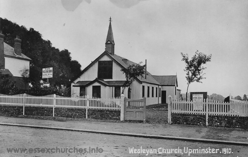 Wesleyan/Methodist, Upminster  Church